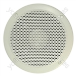 "5"" White 100V Line Waterproof Ceiling speaker 6W"