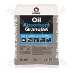 Oil Absorbent Spill Granules - 30 Litres