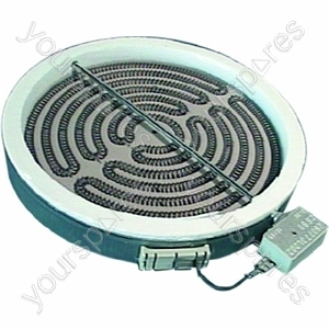 Indesit 1600 Watt Electric Hob Heat Element - 200mm Diameter