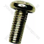 Indesit M4X 12Mm Phillips Screw - Rohs Compliant
