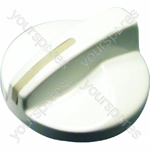 Burner/hotplate Knob White Giugiaro