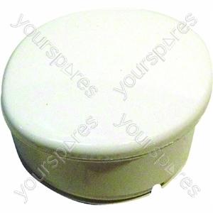 Indesit Timer knob white wash side