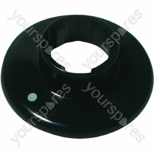 Indesit Group Knob disc black Spares