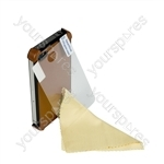iPhone 4 - Leather Shell - Brown