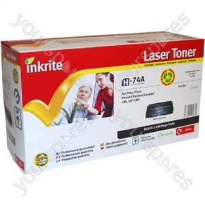 Inkrite Laser Toner Cartridge compatible with HP LaserJet 4L 4ML 4P 4MP Black