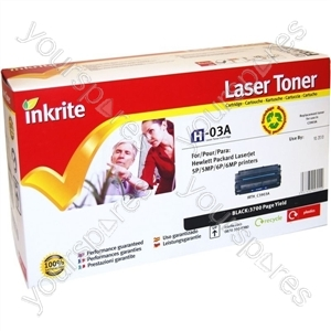 Inkrite Laser Toner Cartridge Compatible with HP 5P Black
