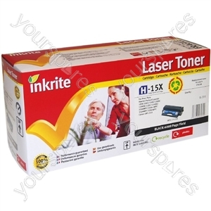 Inkrite Laser Toner Cartridge Compatible with HP 1200 Black (Hi-Capacity)