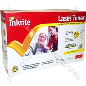 Inkrite Laser Toner Cartridge Compatible with HP Colour LaserJet CP4005 Yellow