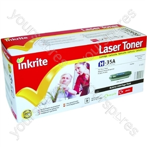 Inkrite Laser Toner Cartridge Compatible with HP Laserjet P1005/P1006 Black
