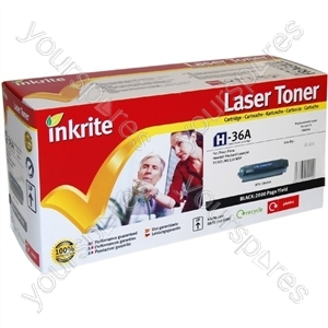 Inkrite Laser Toner Cartridge Compatible with HP Laserjet P1505/M1522/1120 Black