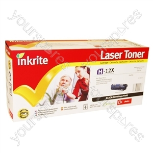 Inkrite Laser Toner Cartridge Compatible with HP 1010 Black (Hi-Cap)