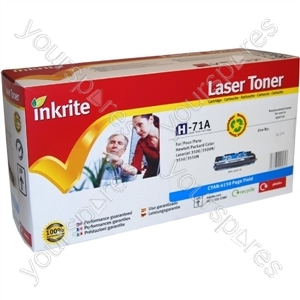 Inkrite Laser Toner Cartridge compatible with HP 3500C Cyan