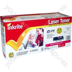 Inkrite Laser Toner Cartridge Compatible with HP Colour LaserJet 2550 Magenta
