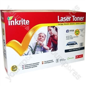 Inkrite Laser Toner Cartridge Compatible with HP Colour LaserJet 4700 Black