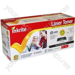 Inkrite Laser Toner Cartridge Compatible with HP 1600/2600/2605 Black