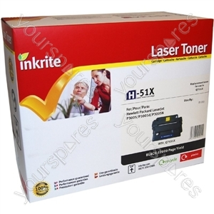 Inkrite Laser Toner Cartridge compatible with HP LaserJet P3005 / M3027 / M3035 Hi-Cap Black