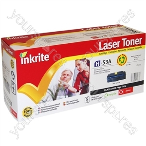 Inkrite Laser Toner Cartridge compatible with HP LaserJet P2015 Std-Cap Black