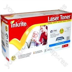 Inkrite Laser Toner Cartridge compatible with HP Color Laserjet 2700/3000 Cyan