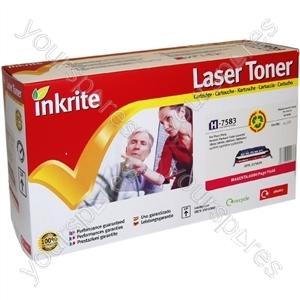 Inkrite Laser Toner Cartridge Compatible with HP Colour LaserJet 3800 Magenta