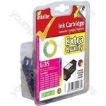 Inkrite NG Ink Cartridges (No.35) for Lexmark P450 P4350 - 18C0035 Clr