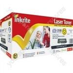 Inkrite Laser Toner Cartridge compatible with Brother TN130 TN135 Black (Hi-Cap)