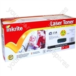 Inkrite Laser Toner Cartridge Compatible with HP 1200 Black