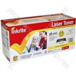 Inkrite Laser Toner Cartridge Compatible with HP 1600/2600/2605 Yellow