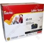 Inkrite Laser Toner Cartridge compatible with HP LaserJet P3005 / M3027 / M3035 Hi-Cap Black