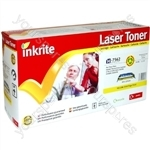 Inkrite Laser Toner Cartridge compatible with HP Color Laserjet 2700/3000 Yellow