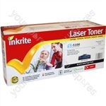 Inkrite Laser Toner Cartridge compatible with Samsung SF5100 Black