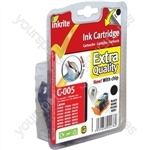 Inkrite NG Printer Ink (Chipped) for Canon iP3300 4200 4300 MP500 510 530- PGI-5BK Black (Dolphin)