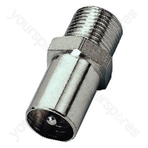F Connector - Adapter F Jack/coaxial Antenna Plug
