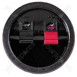 LS Clamp Connector - Spring-loaded Speaker Terminal
