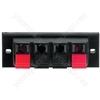 Push Terminal - Spring-loaded Speaker Terminal, 4 Poles