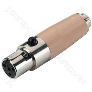 Mini XLR Adaptor - Adapter