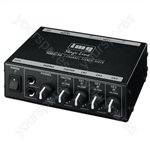 Line Mixer - Compact 3-channel Stereo Line Mixer