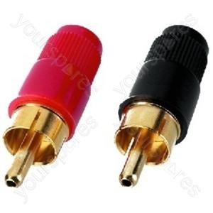 Cinch Plug - Rca Plugs