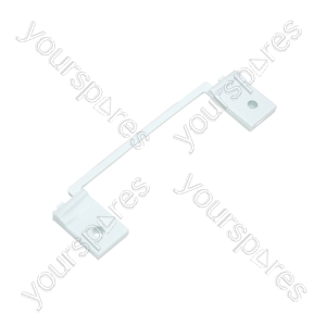 Ariston White Washing Machine Door Hinge Support