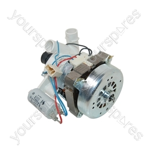 Indesit Dishwasher Wash Motor and Pump Assembly