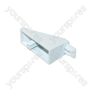 New World White Oven Door Handle Pillar