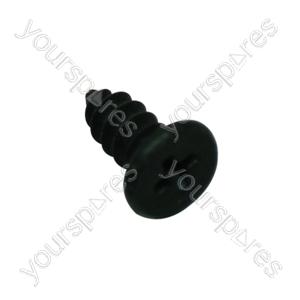 Screw M4 X 6mm Black