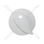 Belling White Oven Control Knob