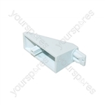 New World White Oven Door Handle Pillar