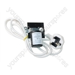 Indesit Washing Machine Mains Cable & Filter