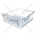 Hotpoint Large Clear Plastic Freezer Drawer - 2nd from top