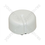 Hotpoint White Cooker Control Knob