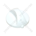 Hotpoint EW81 White Short Shaft Cooker Control Knob