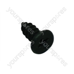 Screw M4 X 6mm Black
