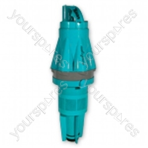 Cyclone Assembly Steel Turquoise