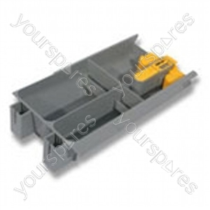 Soap Tray Assembly Grey